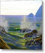 Seascape Study 7 Metal Print