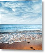 Seashore Metal Print by Carlos Caetano