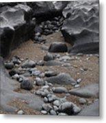Seaside Shapes II Metal Print