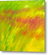 Season Of The Red Grass Metal Print