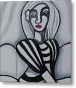Seated Woman 2 Metal Print