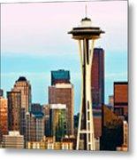 Seattle Daylight Metal Print