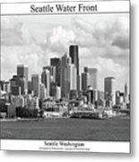 Seattle Water Front Metal Print