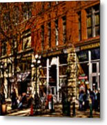 Seattle's Underground Tour Metal Print by David Patterson