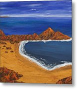Secluded Beach Donegal Metal Print
