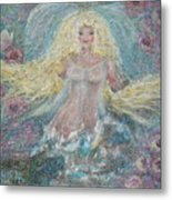 Secret Garden Angel 3 Metal Print
