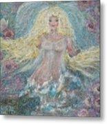 Secret Garden Angel 3 Metal Print