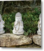 See Hear Speak No Evil Metal Print
