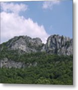 Seneca Rocks Metal Print