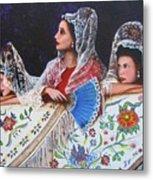 Sevilla's Ladies Metal Print
