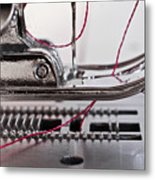 Sew What Metal Print by Patrick English