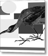 Shadow Dancing Metal Print