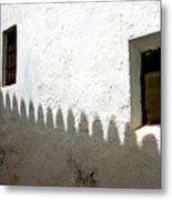 Shadow Walk Metal Print