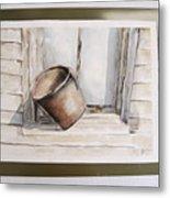 Shakertown Bucket Metal Print