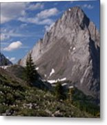 Shark Tooth Mountain Metal Print