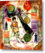 She Remained True Metal Print