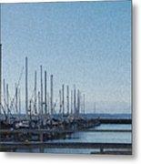 Shilshole Bay Marina 2010 Metal Print