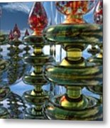 Shiny Things Metal Print