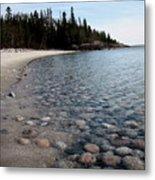 Shoreline Serenity Metal Print