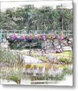 Shorey Park Bridge I Metal Print