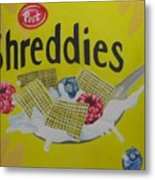 Shreddies Metal Print
