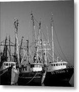 Shrimper Fleet Metal Print