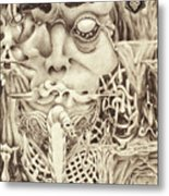 Shudders Metal Print by Sean Imler