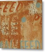 Sign Abstract Metal Print