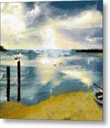 Silent Ocean Metal Print