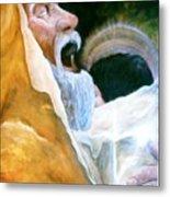 Simeon And His Salvation Metal Print