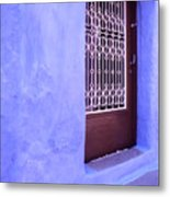 Simply Blue Metal Print