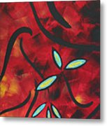 Simply Glorious 1 By Madart Metal Print by Megan Duncanson