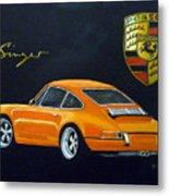 Singer Porsche Metal Print