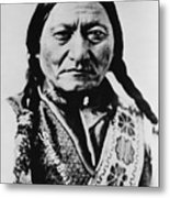 Sitting Bull 1831-1890 Lakota Sioux Metal Print by Everett