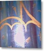 Six Eight Singing In The Rain Metal Print by Alanna Hug-McAnnally