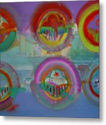 Six Visions Of Heaven Metal Print