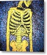 Skeletoon Metal Print