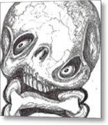 Skullnbone Twisted Metal Print