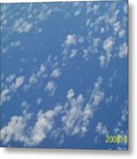 Sky High Metal Print by Rishanna Finney