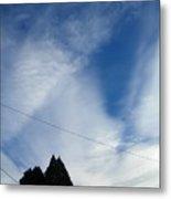 Sky Lines Metal Print