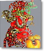 Slither Metal Print