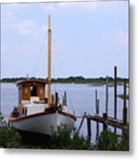 Sloop In Paradise - Debbie May - Photosbydm Metal Print