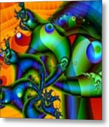 Sluggish Metal Print