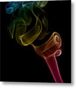 smoke XVI Metal Print