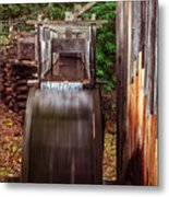 Smoky Mountain Mill Metal Print by Andrew Soundarajan