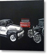 Snap-on Ford Trucks Metal Print