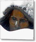 Snow Lady  Metal Print