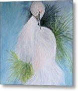 Snowy Egret Metal Print