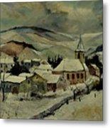 Snowy Landscape 780121 Metal Print