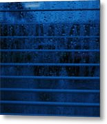 So Blue I Can Metal Print